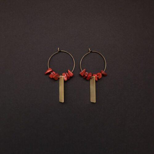 Boucles d'oreilles Gaïa Artapaon