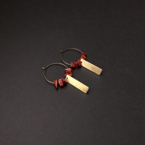 Boucles d'oreilles Gaïa Artapaon 2