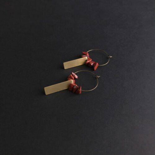 Boucles d'oreilles Gaïa Artapaon 3