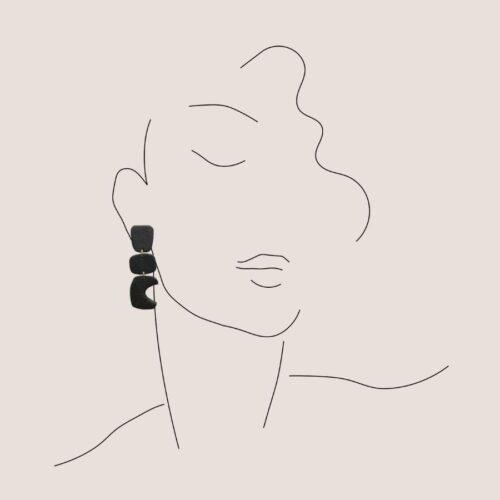 Boucles d'oreilles Maya Artapaon 3