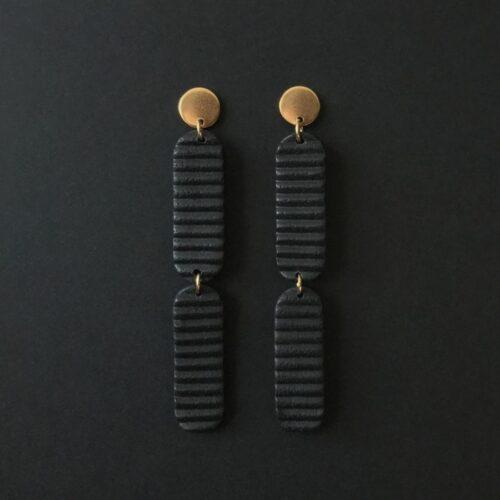 Boucles d'oreilles Lina version longue Artapaon