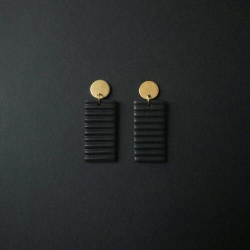 Boucles d'oreilles Lina Rectangle Artapaon